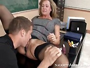 Big Tits Brandi Love - My First Sex Teacher School Fuck