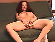 Redhead Mom Stuffs Her Pierced Twat With Her Pantyhose