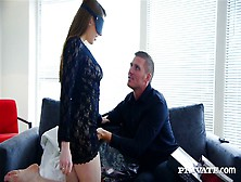 Gorgeous Babe Samantha Bentley Is Sucking Dick Before Riding Coc
