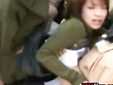 Pregnant japanese fucked by homeless