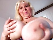 June Kelly Playing With Her Boobs