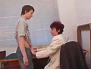 Short Haired Milf Enjoys A Hardcore Pounding From A Younger Stud