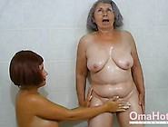 Horny Grandma And Mature Are Playing Together