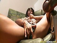 Mellow Trimmed Ebony Brown Sugar Play With Her Cunt