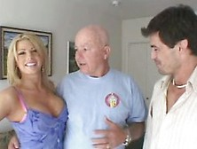 Audrey Hollander In A Threesome