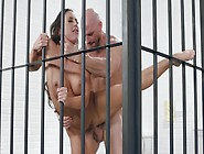 Johnny Fucks His Beautiful Wife In A Prison Cell