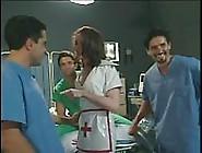 Tres Pollas Para Una Dulce Enfermera