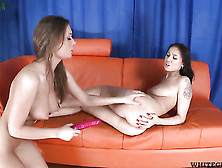Tabita And Alisa Miller Screams From Endless Orgasms After Rubbi