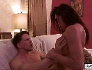 Hot And Sexy Shemale Jessy Fucks Ass With A Hunk Dude