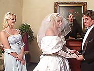 Depraved Bride Missy Monroe Sucks Two Boners And Enjoys A Dp