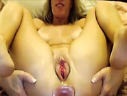 Meaty Pussy Queefing Mature Blond Queen Justy