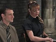 Danielle & Steven Sex In Prison