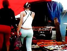 Nalgona Pants Verdes (Calzon De Fuera) Y Rojos En Tianguis