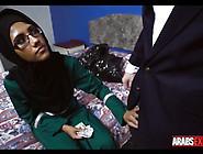 Arab Girl Paid To Suck 2 Dicks