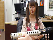 Slutty Asian Teen Tiffany Rain Fucks A Pawnmans Cock