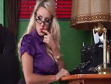 Dannii Harwood Sexy Secretary