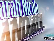 Sarah Nicola Randall Satin Ice Bra Gopro