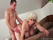 Grey Hair Granny Fucked In Hairy Pussy