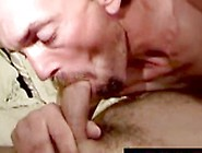 Mature Hairy Men Sucking Fat Chubby Dicks And Tugging Lame Cock.