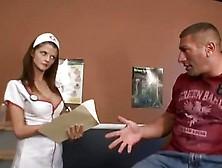 Sexy Nurse Joslyn James Gets Doggy Fucked Deep Making Her Sweet