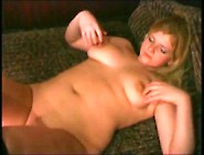 Yummy Blonde Chubby Girls Gf Playing With Pink Pussy