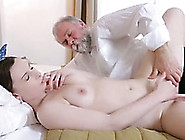 Kinky Teen Gets Her Smooth Pussy Smashed By An Old Guy