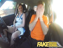 Fake Driving School Posh Freaky Redhead With Big Tits And Ginger