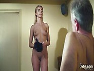 Lovely Blonde Teen Cherry Kiss Rides Older Dude