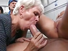 Germans And Matures In Factory Group Sex