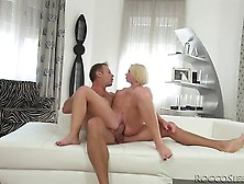Slutty Blonde Kiara Lord Goes Crazy Over Rocco's Huge Dick.  By R