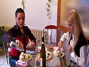 Two Bored Housewives Turn Cake Party Into Wicked Cake Fight