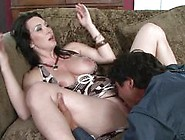 Rayveness Envelopes A Big Dick With Her Wet Pussy Lips