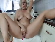 Adorable Mom Chick Plays With Her Sweet Pussy