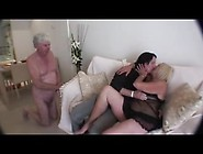 Mature Bisex Couple With Friend