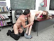 Unexpected Fucking For Sexy Student Rebel Lynn