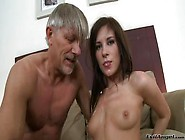 Hot Teen Plays With Grandpa