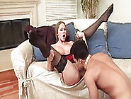 Abby Rode Hard Fucking In Sexy Black Stockings
