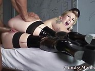 Kinky Blonde Cuckolds Husband With Black Dick