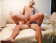 Small Tittied Shemale Whore Is Riding Me Reverse Cowgirl Style