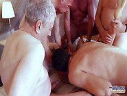 Gina Gerson.  Old School Gangbang Reloaded