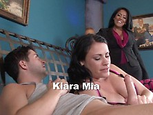 Kris Cramming Milf And Teen Kiara Mia And Ashli Ames