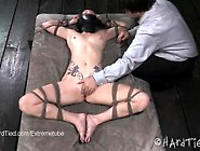 Veruca James Tied And Teased