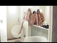 Teen Lesbian Babes Gag Pussies Under Sweet Panties Video