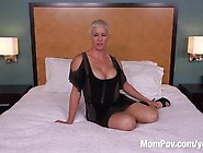Blond Short Haired Milf Has A Killer Body - Pov