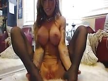 Hott Brunette Babe At Evocams. Com