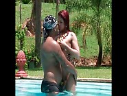 Curvy Red-Haired Latin Hussy Receives A Finger Fuck Of Tight Pus