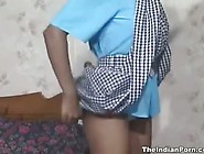 Sexy Indian Schoolgirl Solo Play In Lingerie