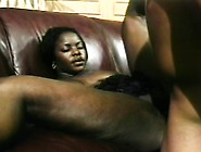 Black Bitch Gives Him Head And Gets Her Wet Snatch Banged Hard