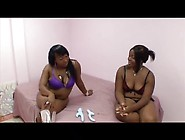 Two Oiled Up Plump Lesbians
