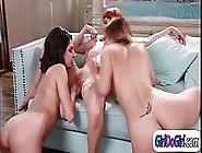 Two Naked Girls Are Fingering Their Hot Boss'S Wet Pussy,  Like R